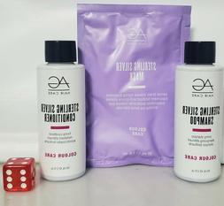 AG Hair Care Sterling Silver Shampoo & Conditioner 2 oz Set
