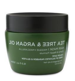 Luseta Tea Tree & Argan Oil Hair Mask for Damaged & Oily Hai