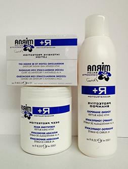 Echos Line R+ Toning Shampoo 33.8 Oz, Deep Protection Fortif
