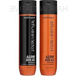 Total Result Mega Sleek Shea Butter Shampoo & Conditioner 10