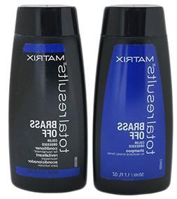 Matrix Total Results Brass Off TRAVEL SET: Shampoo and Condi