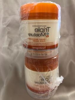 Neutrogena Triple Moisture Deep Recovery Hair Mask 6 oz Pack