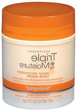 Neutrogena Triple Moisture Deep Recovery Hair Mask, 6 Ounce