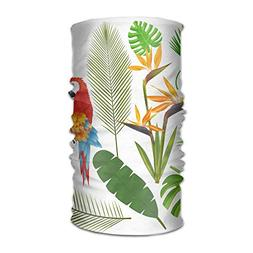 Tropical Leaf Bird Unisex Fashion Quick-Drying Microfiber He