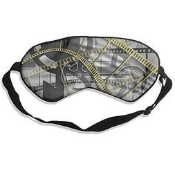 Vedio Tape Images Sleep Eyes Masks - Comfortable Sleeping Ma
