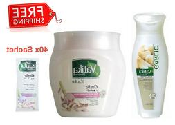 Weak Hair SET - Vatika Naturals GARLIC - Shampoo + Hair Mask
