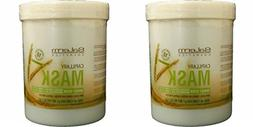 Salerm Wheat Germ Mask  33.7oz / Liter Pack of 2