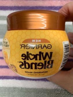 Garnier Whole Blends Honey Treasures Repairing Hair Mask 10.