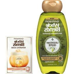 Garnier Whole Blends Replenishing Shampoo & Repairing Mask -