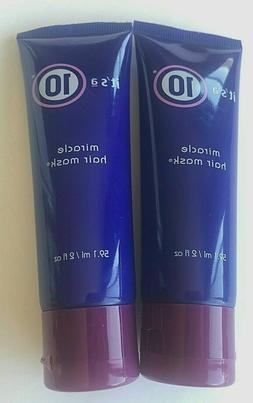 x 2 It's A 10 Miracle Hair Mask 2 oz each Travel Size